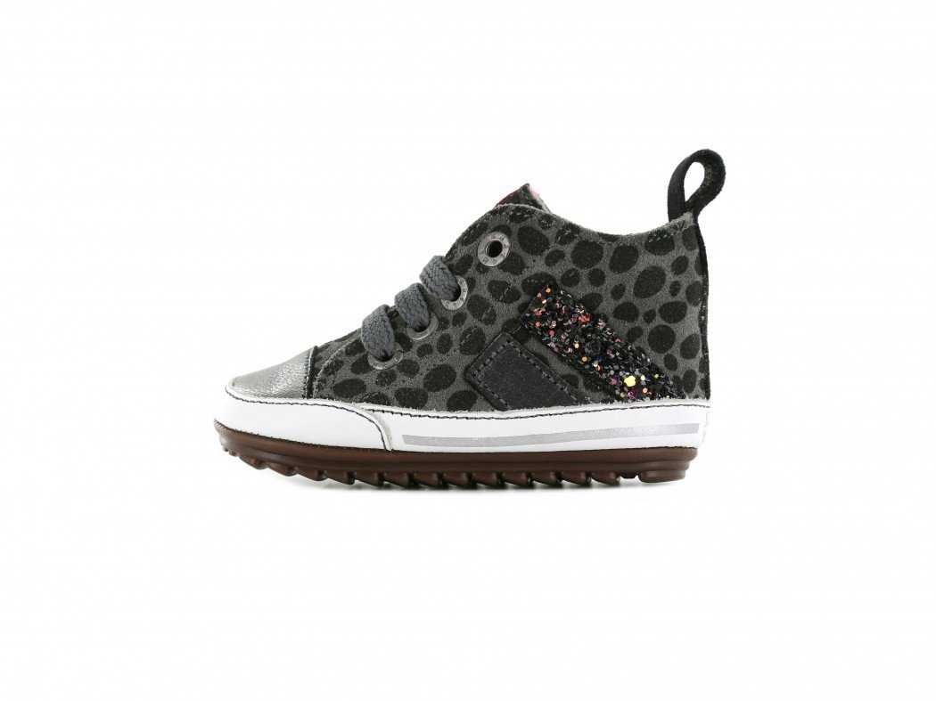 Shoesme rode sandaal met allover bloemenprint