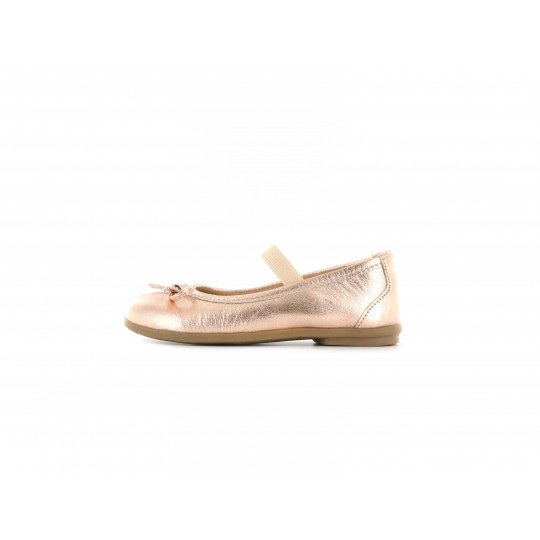 Shoesme perzik metallic ballerina