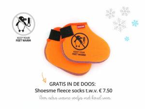 Shoesme Rainboots met gratis fleecesokken