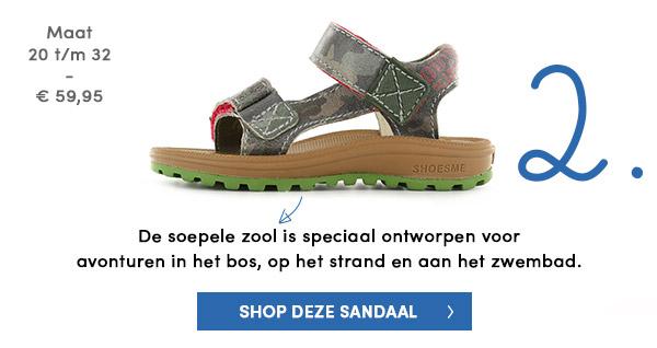 Outdoor sandaal voor echte avonturiers