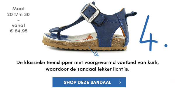 Shoesme teenslipper sandaal
