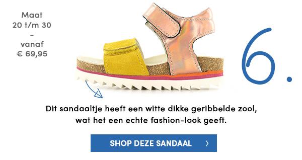 Sandaaltjes met een echte fashion-look
