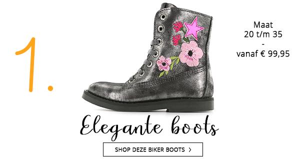 Shoesme elegante biker boots voor het najaar