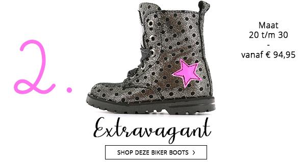 Shoesme extravagante biker boots voor het najaar