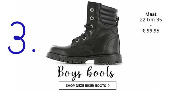 Shoesme boys biker boots voor het najaar