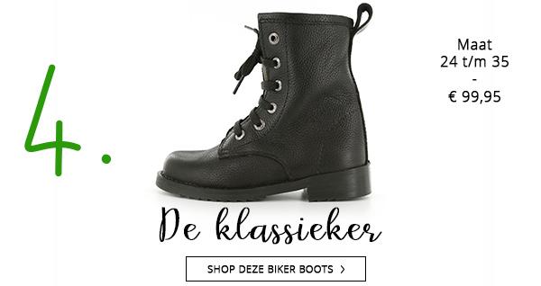 Shoesme klassieke biker boots voor het najaar