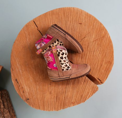 Shoesme babylaarsje animal print en bloemen
