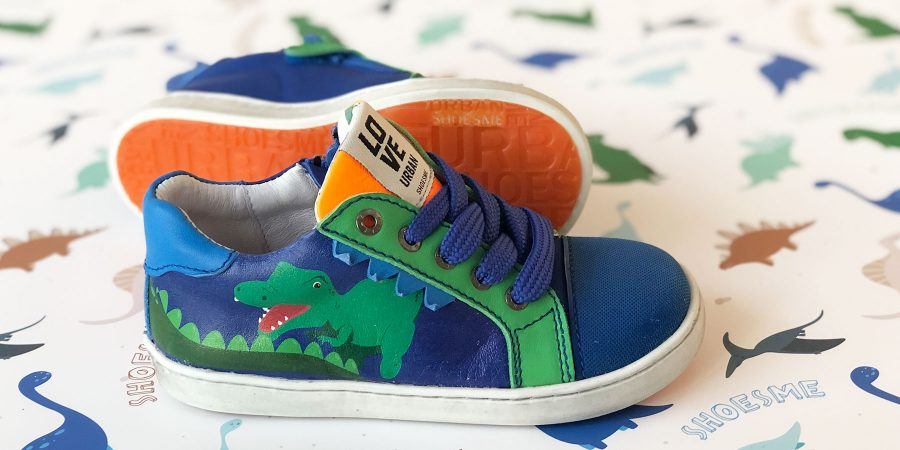 Shoesme Urban sneakers met dino's