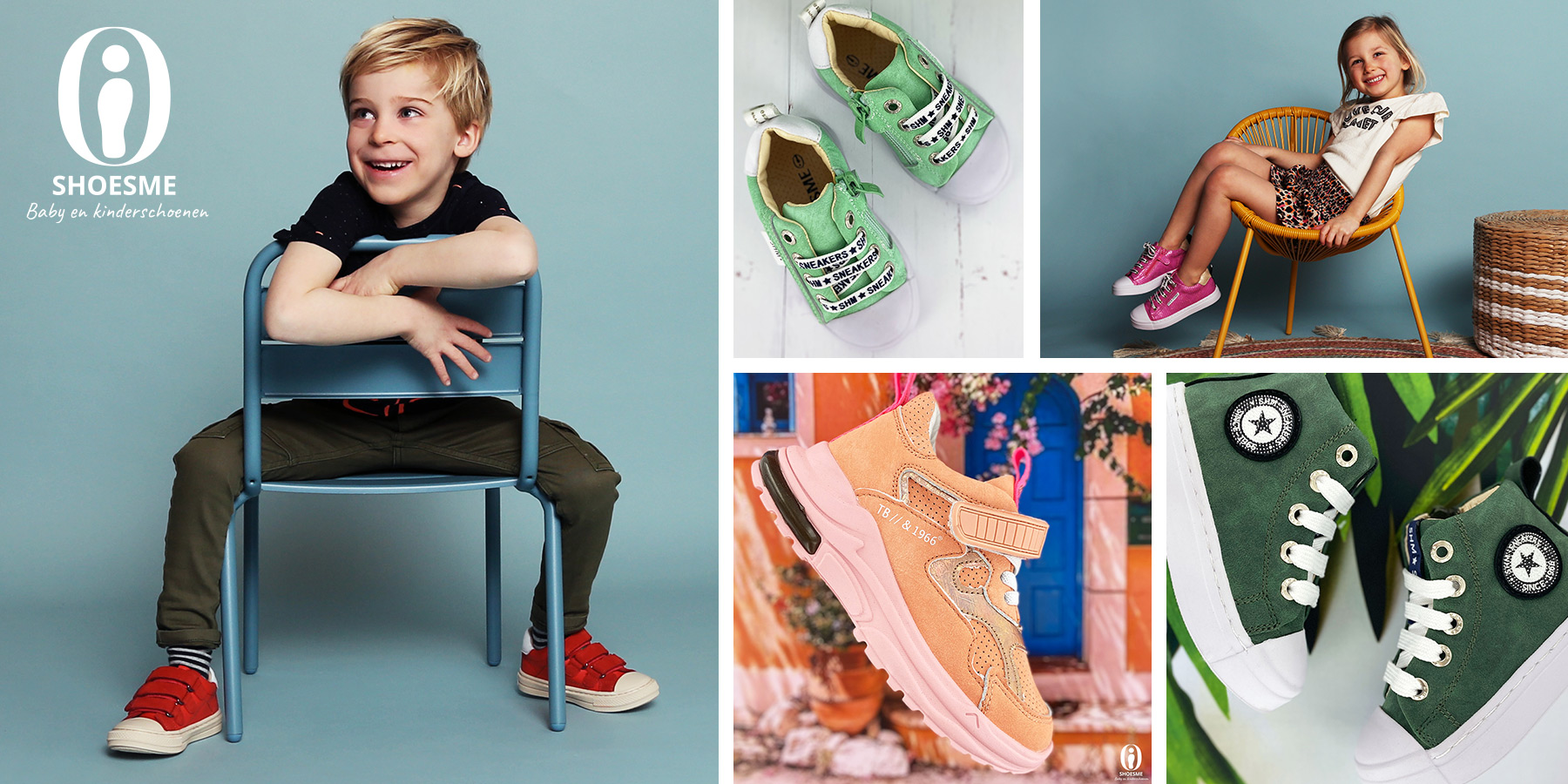 Vrolijke kleuren in de Shoesme collectie